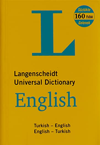 Langenscheidt English-Turkish, Turkish-English Universal Dictionary: Resuhi Akdikmen