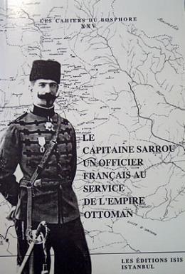 Le CAPITAINE SARROU un officier franCais AU