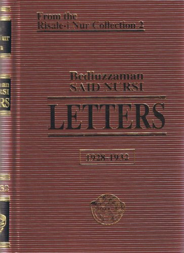 9789754320435: Letters, Translated by Sukran Vahide
