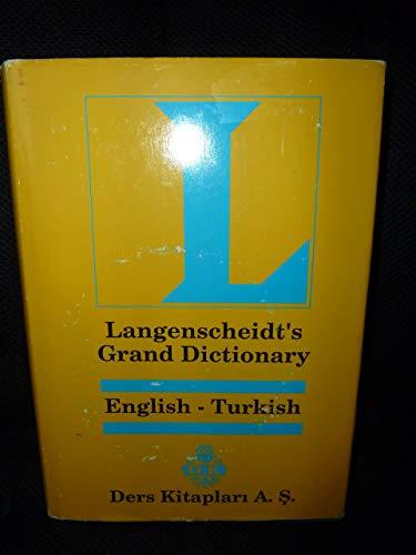 Langenscheidt's Buyuk Sozluk (Ingilizce - Turkce)