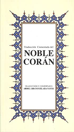 Noble Coran / Küçük Boy - Ispanyolca: Abdel Ghani Melara