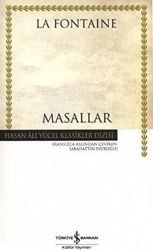 9789754589610: Masallar - Hasan Ali Yucel Klasikleri