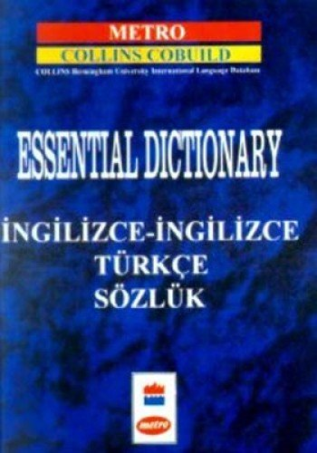 Essential Dictionary (English and Turkish Edition) (9754599122) by Onder Renkliyildirim