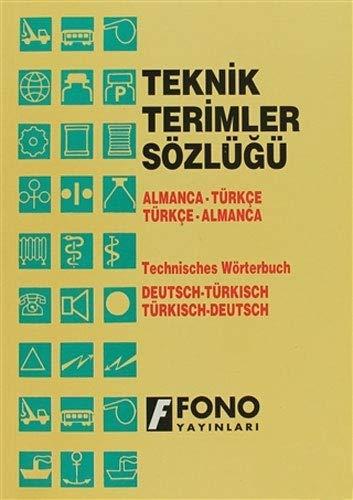 9789754710168: Almanca/Turkce - Turkce/Almanca Teknik Terimler Sozlugu