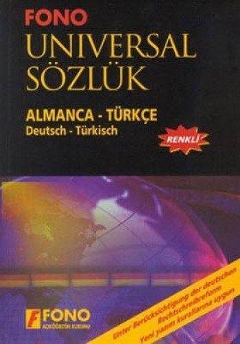 9789754712360: Universal Sözlük Almanca Türkçe