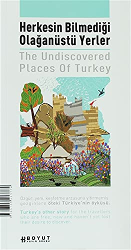9789755213774: The Undiscovered Places of Turkey: English-Turkey (Turkish Edition)