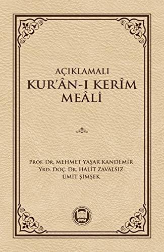 9789755483283: Aciklamali Kur'an-i Kerim Meali