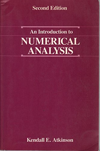 9789756130001: An Introduction to Numerical Analysis (Livre en allemand)