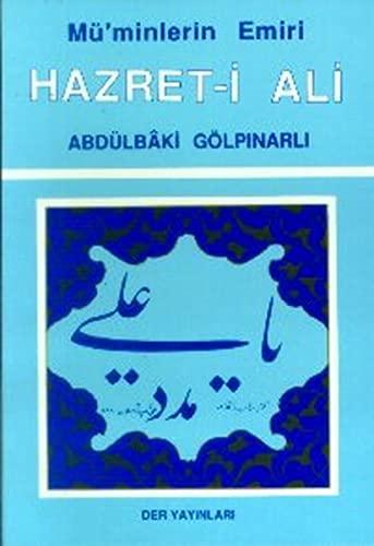 9789756463314: M�minlerin Emiri Hazreti Ali