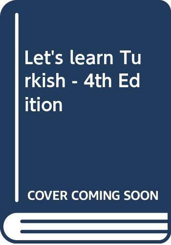 9789756691182: Let's learn Turkish - 4th Edition