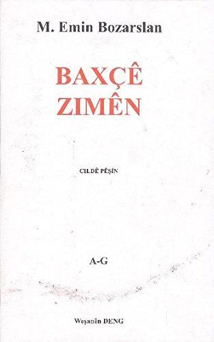 9789757011576: Baxce Zimen