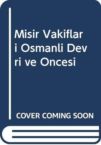 9789757874157: Misir Vakiflari Osmanli Devri ve Oncesi