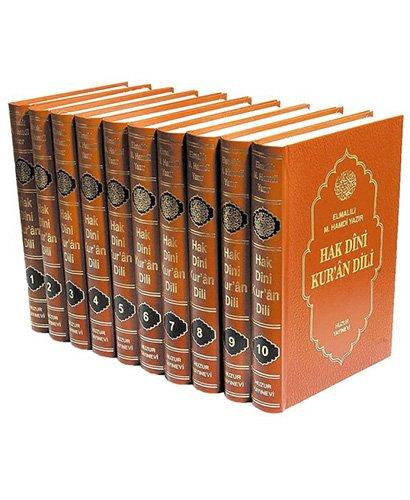 9789758666447: Hak Dini Kur'an Dili - Samua (10 Kitap Takim)