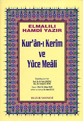 Kur'an-i Kerim Ve Yüce Meali Orta Boy: Elmalili Muhammed Hamdi