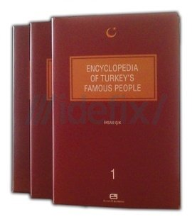 Encyclopedia of Turkish authors. People literature, culture and science. 3 volumes set in special...