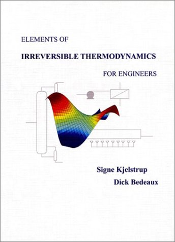 9789759756819: Elements of Irreversible Thermodynamics for Engineers
