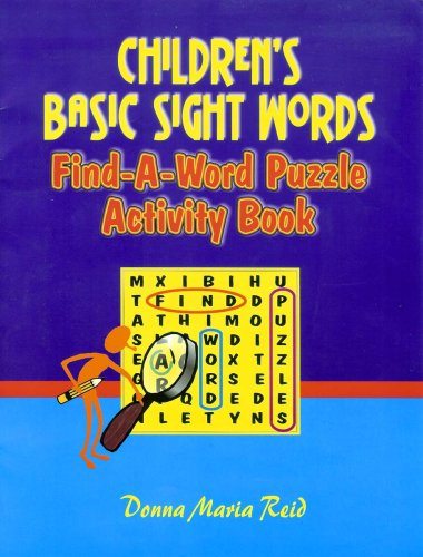 9789766102869: Children's Basic Sight Words: Find-a-Word Puzzle Activity Book