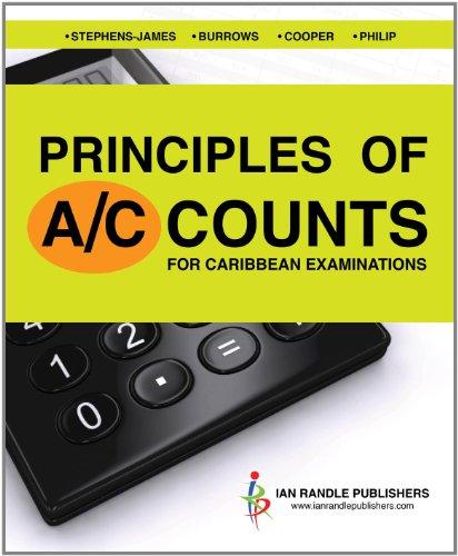 9789766375324: Principles of Accounts for Caribbean Examinations