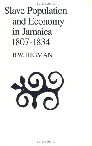 9789766400088: Slave Population and Economy in Jamaica 1807-1834