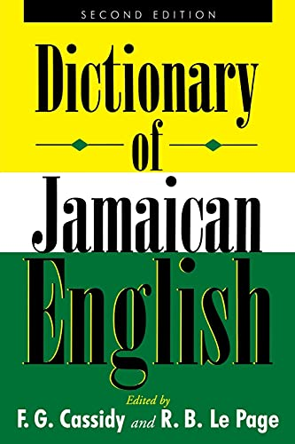 9789766401276: A Dictionary of Jamaican English