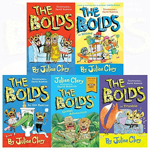 9789766713201: The Bolds Julian Clary Collection 2 Books Bundle (The Bolds to the Rescue,The Bolds)