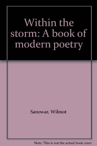 9789768075031: Within the storm: A book of modern poetry