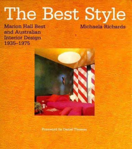 Marion Hall Best And Australian Interior Design 1935