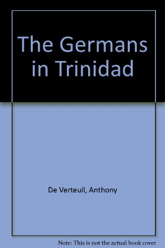 9789768136398: The Germans in Trinidad