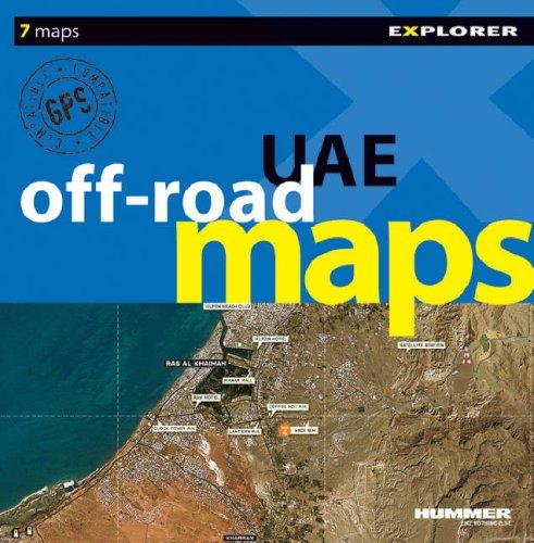 9789768182425: UAE Off-Road Maps (Off-Road Image Maps)