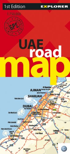 9789768182579: UAE Road Map