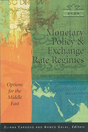 9789771727590: Monetary Policy And Exchange Rate Regimes: Options for the Middle East