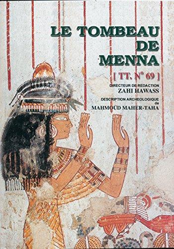 9789773052782: Le Tombeau de Mena (Supreme Council of Antiquities Books)