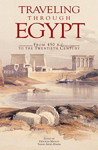 9789774161698: Traveling Through Egypt: From 450 B.C. to the Twentieth Century