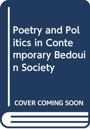 9789774162695: Poetry and Politics in Contemporary Bedouin Society
