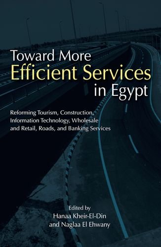 9789774164941: Toward More Efficient Services in Egypt: Reforming Tourism, Construction, Information Technology, Wholesale and Retail, Roads, and Banking Services (Egyptian Center for Economic Studies Publication)