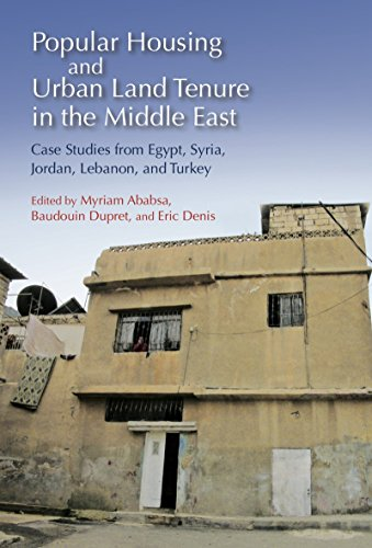 9789774165405: Popular Housing and Urban Land Tenure in the Middle East: Case Studies from Egypt, Syria, Jordan, Lebanon, and Turkey