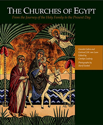 9789774165726: The Churches of Egypt: From the Journey of the Holy Family to the Present Day