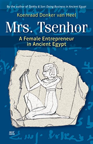 9789774166778: Mrs. Tsenhor: A Female Entrepreneur in Ancient Egypt