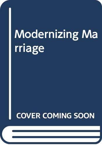 9789774167263: Modernizing Marriage