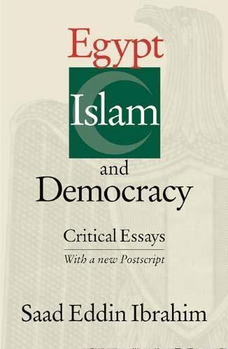 9789774243776: EGYPT ISLAM & DEMOCRACY