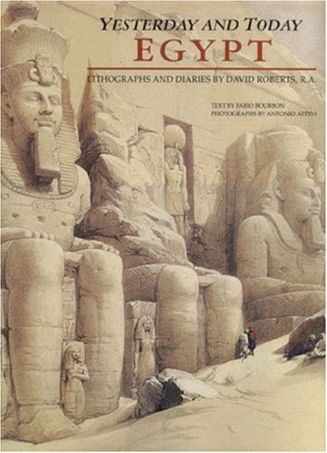 9789774244087: Yesterday & Today - Egypt Lithographs & Diaries