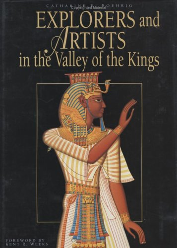 9789774247057: Explorers and Artists in the Valley of the Kings