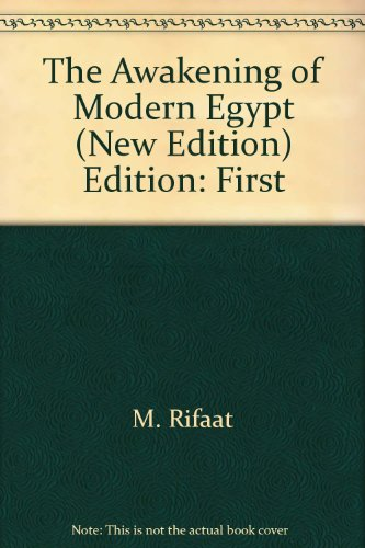 9789775089618: The Awakening of Modern Egypt (New Edition)
