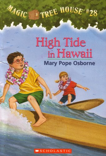 9789780439545: High Tide in Hawaii: Magic Tree House #28 (Paperback 2004 Printing, Second Edition)