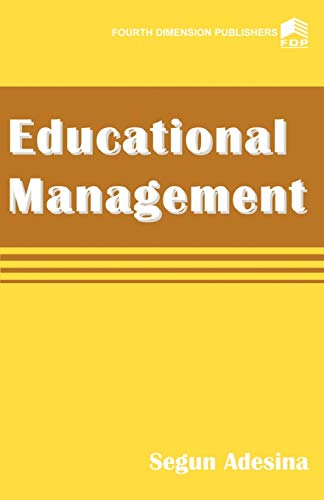 9789781563409 - Segun Adesina: Educational Management - Book
