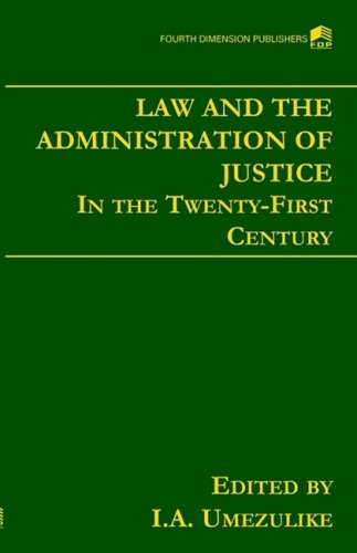 9789781564253: The Law and the Administration of Justice
