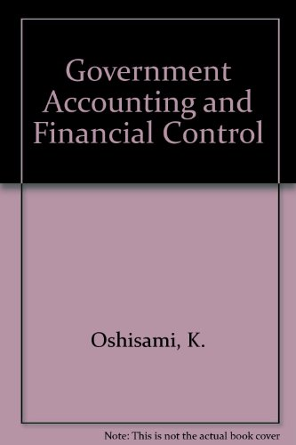 9789782461933: Government Accounting and Financial Control