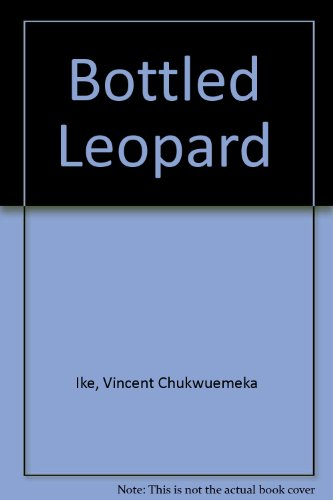 9789782492739: The Bottled Leopard