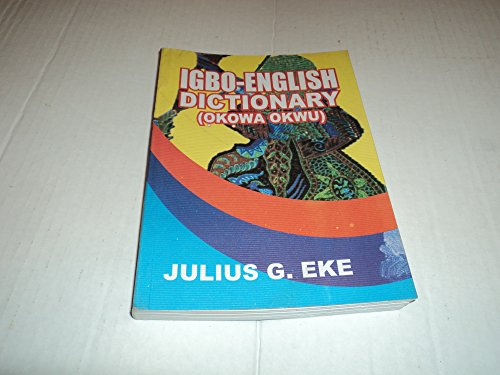 9789782900753: IGBO-ENGLISH DICTIONARY