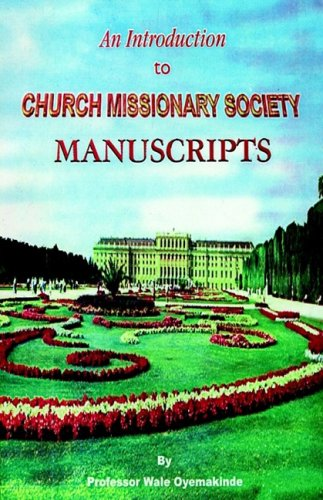 9789783117846: An Introduction to Church Missionary Society Manuscripts